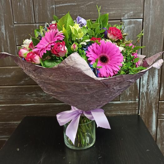"Букет ""Летний вечер"": букеты цветов на заказ Flowwow"