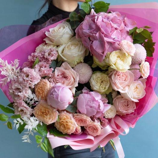Букет цветов,,Страсть и любовь