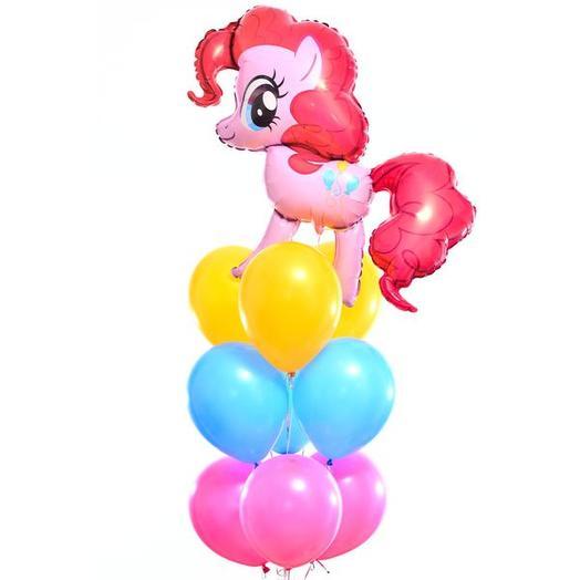 "Букет шаров ""My Little Pony"""