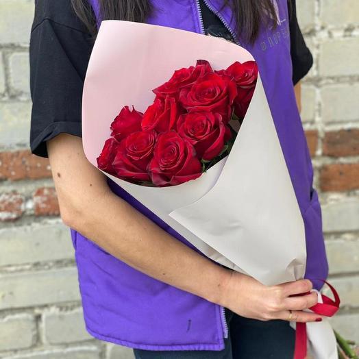 Красные Голландские розы