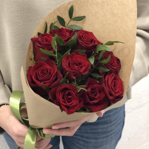 Пенелопа - 9 Ароматных Роз