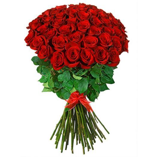 Букет моно Роза премиум 90 см