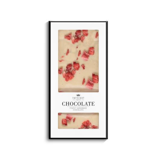 Шоколад «Кдубничная паннакота»