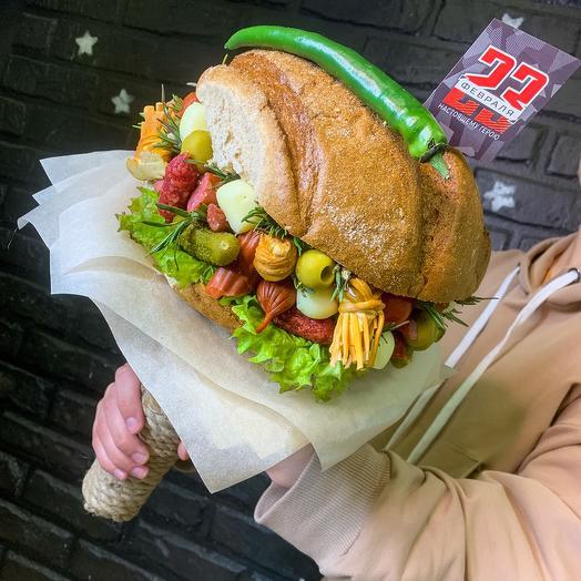 Букет «Бургер»