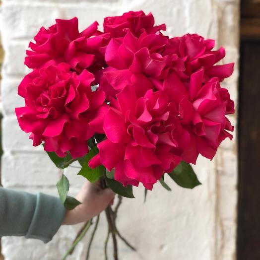 Букет из 9 французских роз