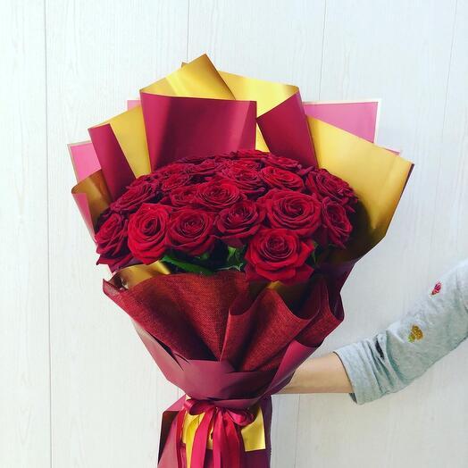 «Бархатные розы»