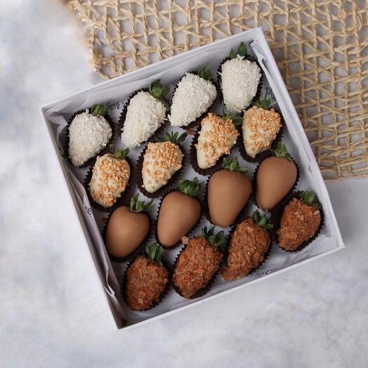 Набор из клубники в шоколаде 1