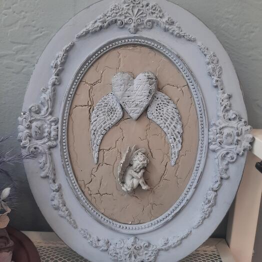 Панно с ангелом