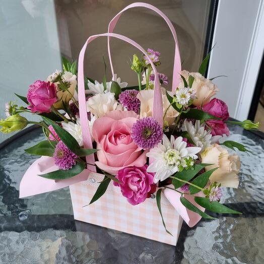 Цветочные сумочки