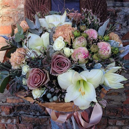 Bouquet of Tenderness in the eyes: flowers to order Flowwow
