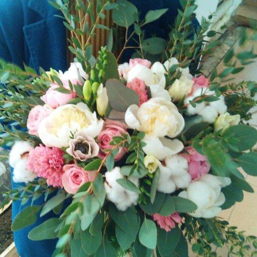 Пионовые грезы букет: букеты цветов на заказ Flowwow