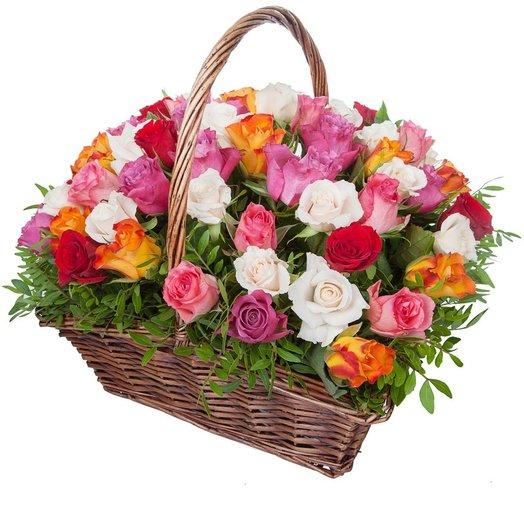 Букет  86 Веллюр: букеты цветов на заказ Flowwow