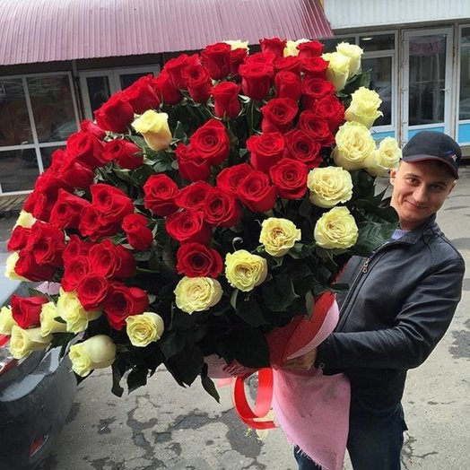 Букет Принцесса: букеты цветов на заказ Flowwow