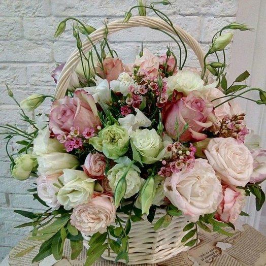 Ванильный десерт: букеты цветов на заказ Flowwow