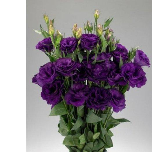 Эустома в ассортименте из 7 штук: букеты цветов на заказ Flowwow