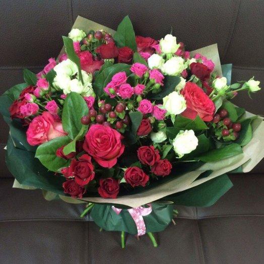 "Букет ""Авторский"": букеты цветов на заказ Flowwow"