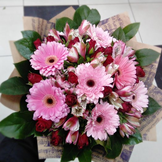 Made by Жасмин 7: букеты цветов на заказ Flowwow