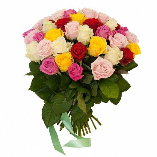Букет 25 роз (50см): букеты цветов на заказ Flowwow