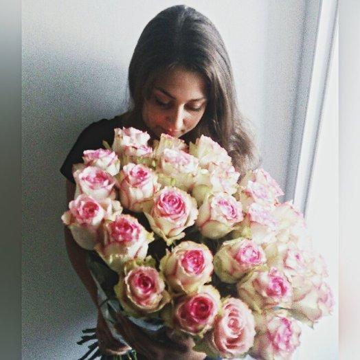 25 роз Esperance: букеты цветов на заказ Flowwow