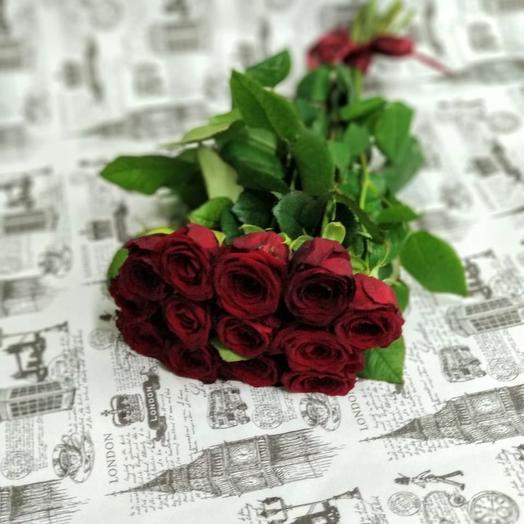 """""""Рэд Наоми 11"""": букеты цветов на заказ Flowwow"""