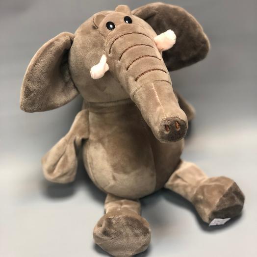 Игрушка Слон: букеты цветов на заказ Flowwow