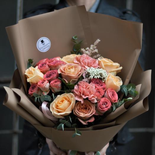Шоколатье Шериз: букеты цветов на заказ Flowwow
