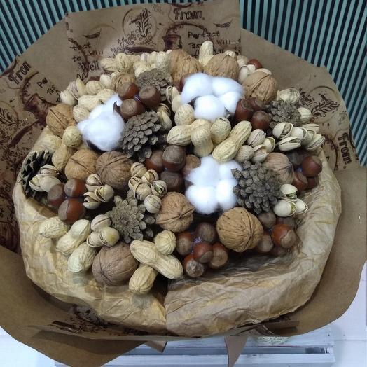 Ореховое настроение: букеты цветов на заказ Flowwow