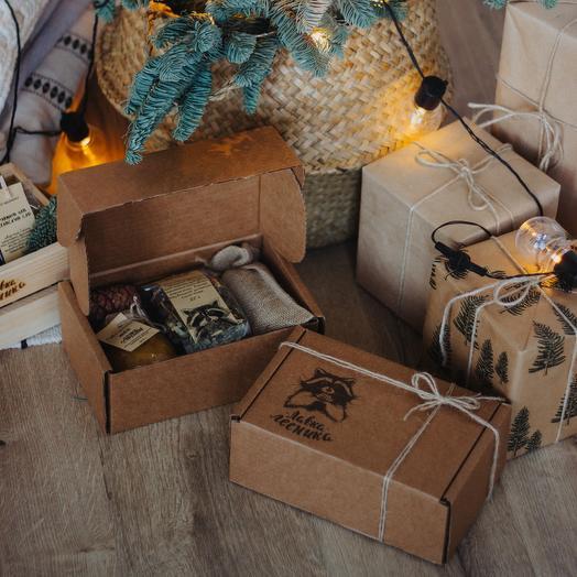 New year gift set in box: букеты цветов на заказ Flowwow