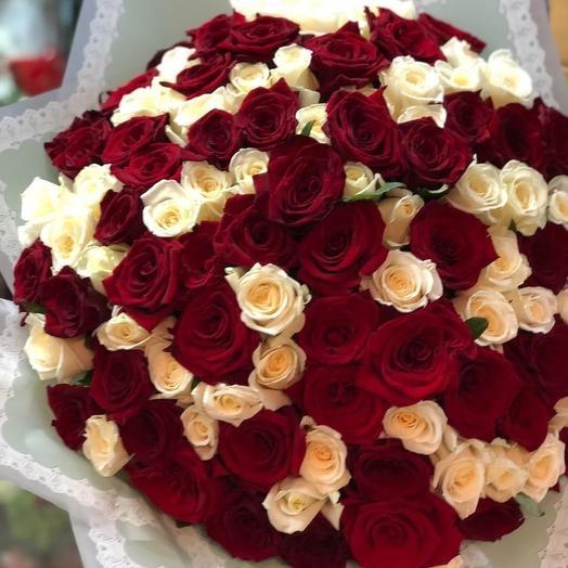 Нежность и страсть🌼🌹: букеты цветов на заказ Flowwow