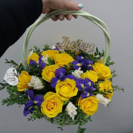 Букет_64: букеты цветов на заказ Flowwow