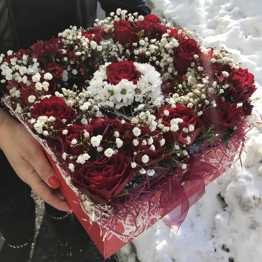 С Днем Святого Валентина Дорогая: букеты цветов на заказ Flowwow