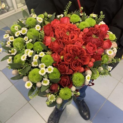 Вместо слов: букеты цветов на заказ Flowwow
