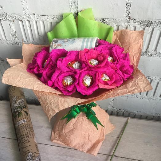 Букет из чая и конфет 14: букеты цветов на заказ Flowwow