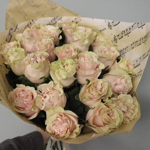 Пинк Мондиаль: букеты цветов на заказ Flowwow