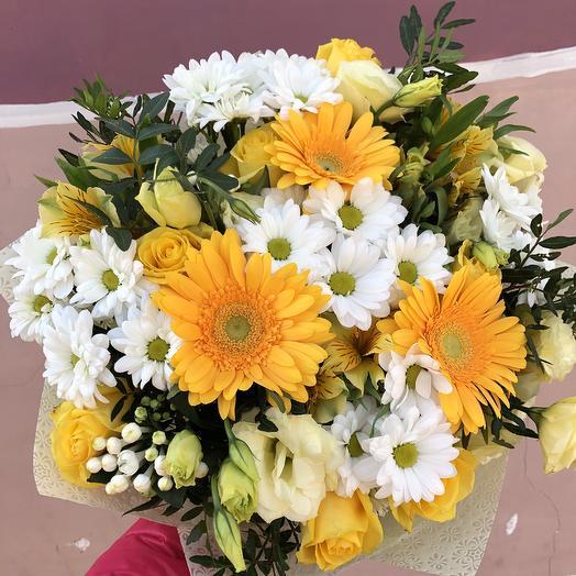 Летнее солнышко: букеты цветов на заказ Flowwow