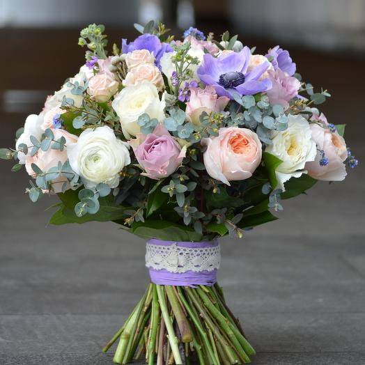 Облачная симфония: букеты цветов на заказ Flowwow