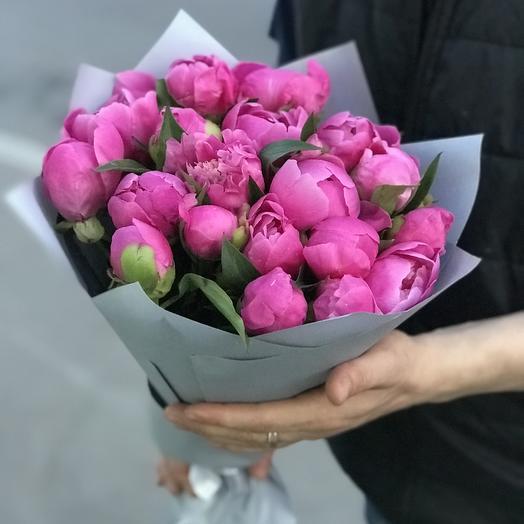 Ароматные пионы в букете: букеты цветов на заказ Flowwow