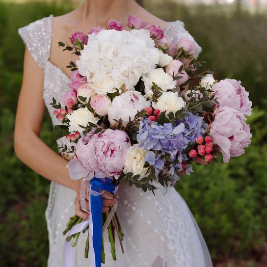 "Букет ""Свадебный"": букеты цветов на заказ Flowwow"