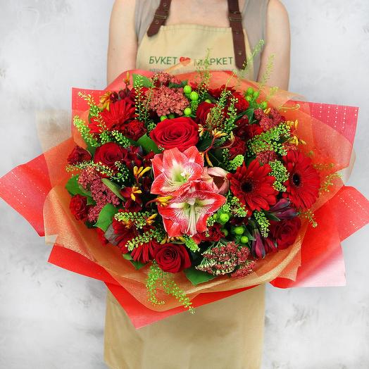 Букет из гербер - Счастливый случай: букеты цветов на заказ Flowwow