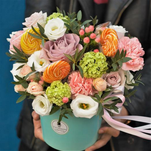 Пушистая Свити: букеты цветов на заказ Flowwow