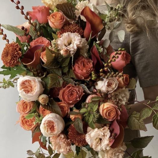 Бархатная пора: букеты цветов на заказ Flowwow