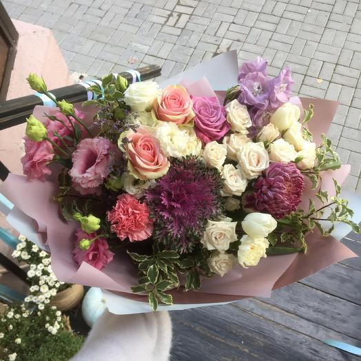 Букет «Яркие краски осени»: букеты цветов на заказ Flowwow