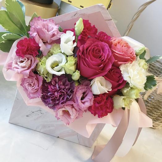 Цветочный конверт 2: букеты цветов на заказ Flowwow