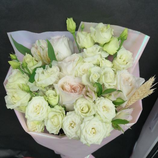 Зимнее волшебство: букеты цветов на заказ Flowwow