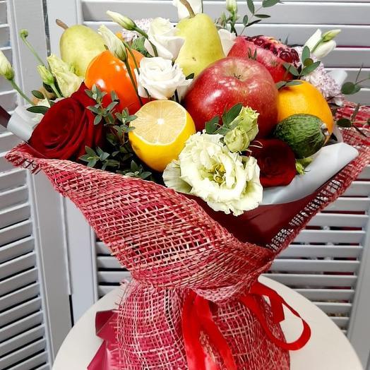 Фруктовый сад: букеты цветов на заказ Flowwow