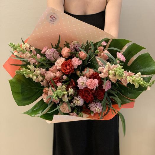 Букет «Вдохновение»: букеты цветов на заказ Flowwow