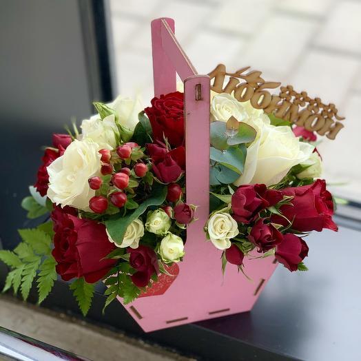 Композиция «Любимой»: букеты цветов на заказ Flowwow