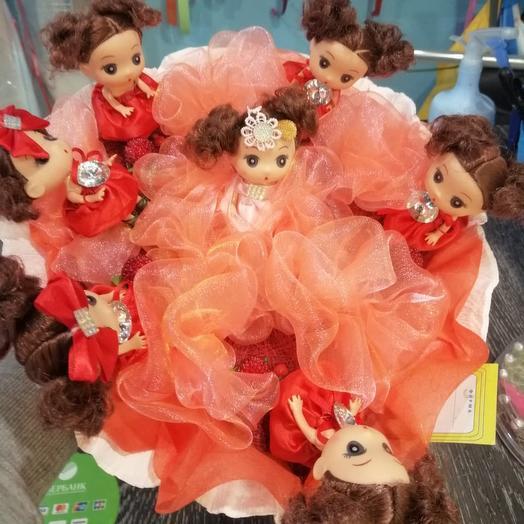 Букет из куколок: букеты цветов на заказ Flowwow