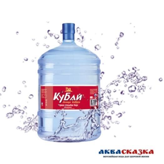 Горная питьевая вода «Кубай», 19 л