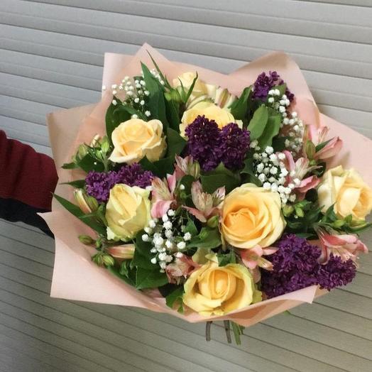 Тёплый май: букеты цветов на заказ Flowwow